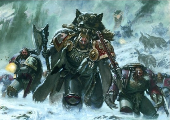 Space Wolves Codex Art