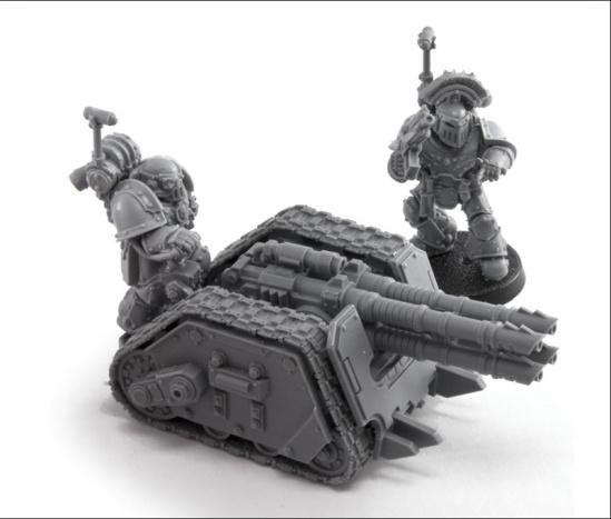 Legion Rapier Weapons Battery