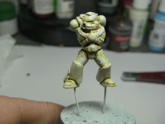 Plague Marine Test 1