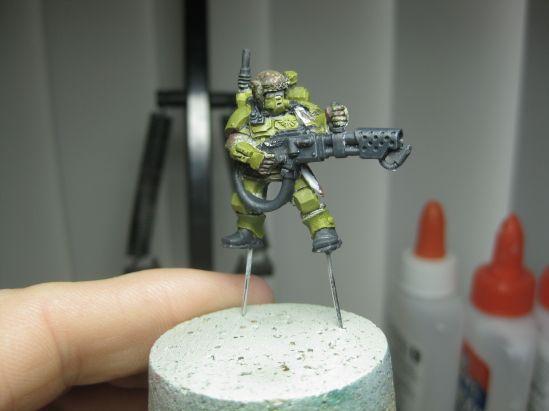 Stormtrooper Yellow Green:German Grey