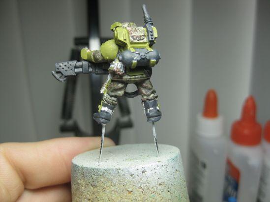 Stormtrooper Yellow Green:German GreyB