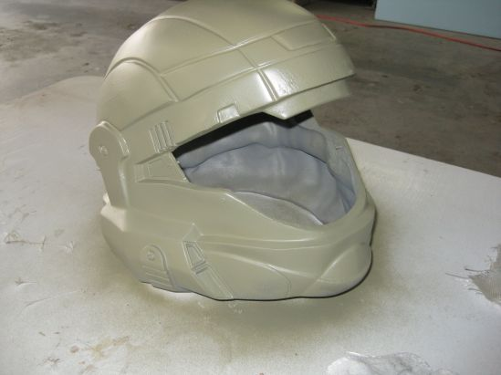 ODST Helmet Green